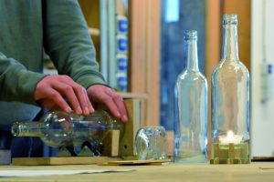 Upcyling Weinflaschen