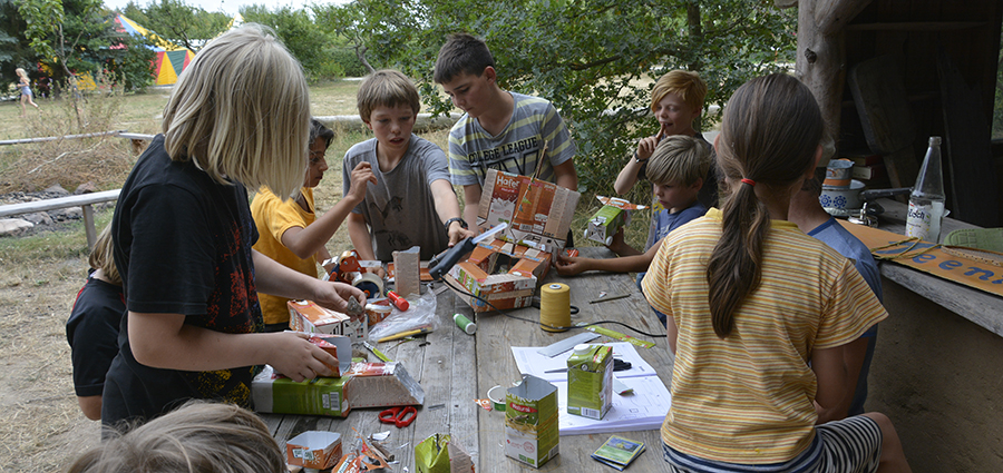 Kinderbetreuung Sommercamp